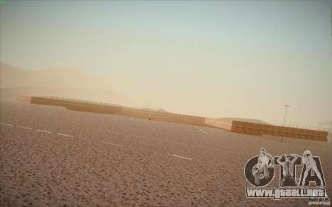 New San Fierro Airport v1.0 para GTA San Andreas sucesivamente de pantalla