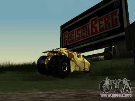 Army Tumbler v2.0 para GTA San Andreas left