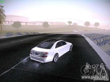 Mercedes-Benz S65 AMG V2.0 para visión interna GTA San Andreas