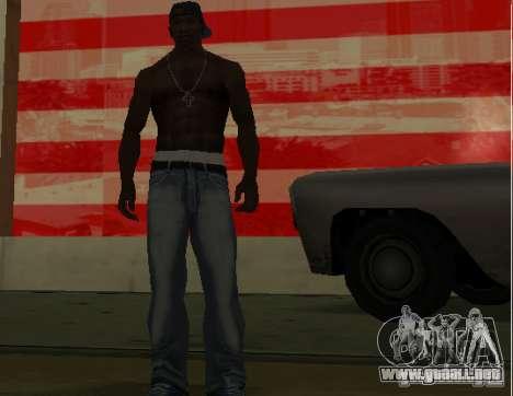 Los nuevos pantalones vaqueros para CJ para GTA San Andreas tercera pantalla