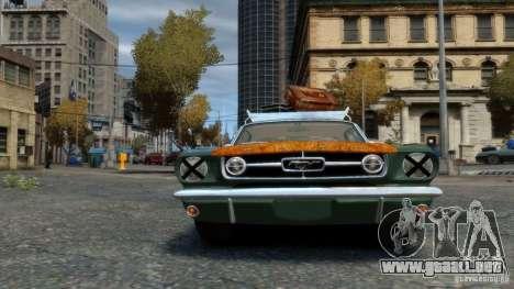Ford Mustang GT MkI 1965 para GTA 4 visión correcta