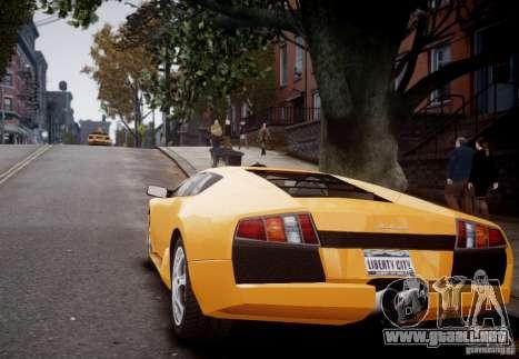 Lamborghini Murcielago para GTA 4 visión correcta