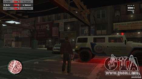 First Person Shooter Mod para GTA 4 sexto de pantalla