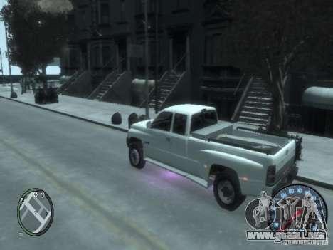 Dodge Ram 3500 para GTA 4 visión correcta