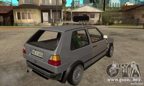 VW Golf Mk2 GTI para la visión correcta GTA San Andreas