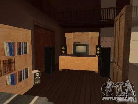Villa en San Fierro para GTA San Andreas octavo de pantalla