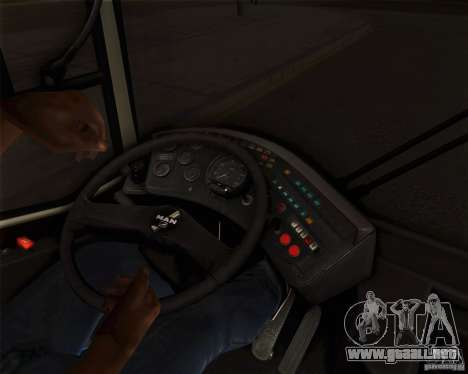 MAN SL202 para visión interna GTA San Andreas