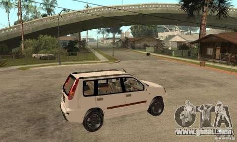 Nissan X-Trail para la visión correcta GTA San Andreas