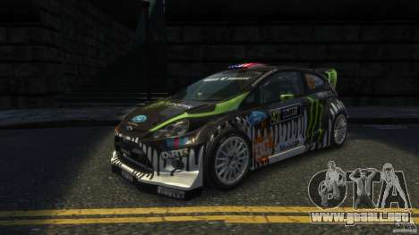 Ford Fiesta RS WRC para GTA 4 left