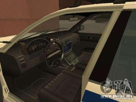 La policía de GTA4 para visión interna GTA San Andreas
