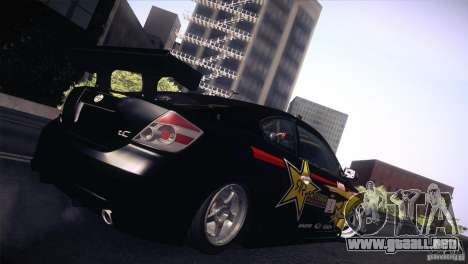 Scion TC Rockstar Team Drift para GTA San Andreas left