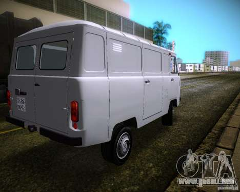 UAZ-3741 para GTA Vice City vista lateral izquierdo