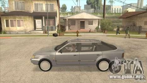 Ford Scorpio para GTA San Andreas vista posterior izquierda
