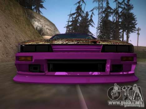 Nissan Silvia S13 Team Burst para la vista superior GTA San Andreas