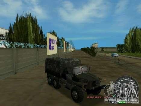 Ural 4320 Military para GTA Vice City vista lateral