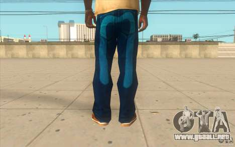 Remix-Evisu-Joker-Burberry Hose para GTA San Andreas tercera pantalla