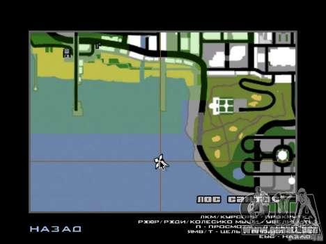 La villa de la noche beta 1 para GTA San Andreas tercera pantalla