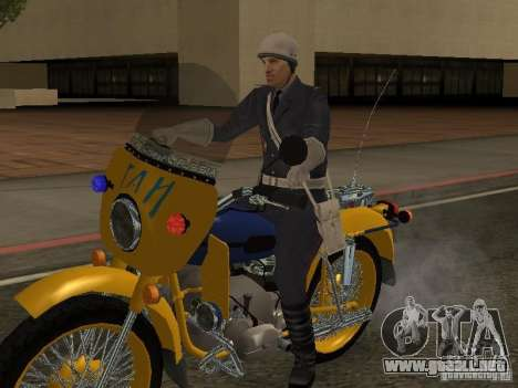Policía de la URSS para GTA San Andreas
