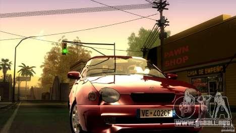 Toyota Corolla G6 Compact E110 EU para GTA San Andreas vista hacia atrás