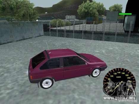 VAZ 2108 clásico para GTA San Andreas left