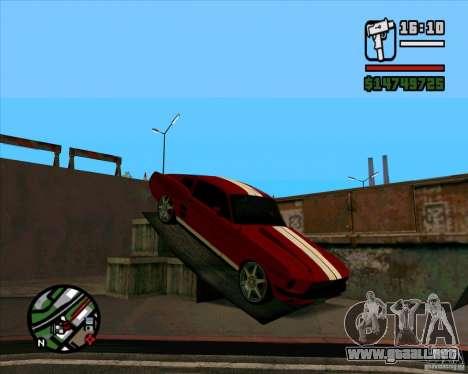 Ford Mustang 67 HotRot para GTA San Andreas