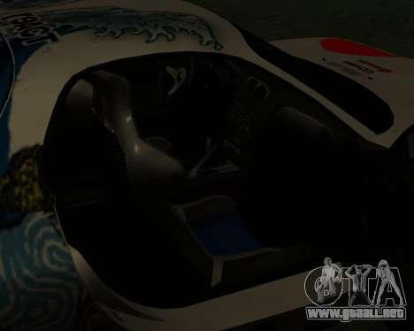 Mazda RX7 para la vista superior GTA San Andreas