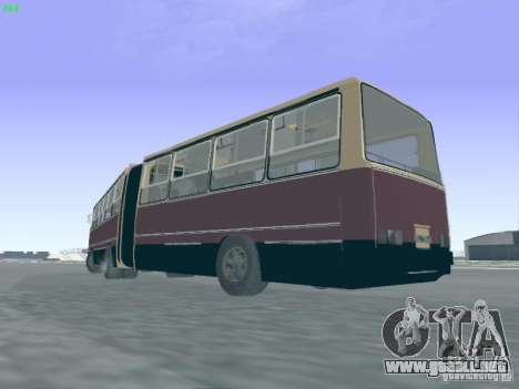 Remolque para Ikarus 280.03 para GTA San Andreas vista hacia atrás