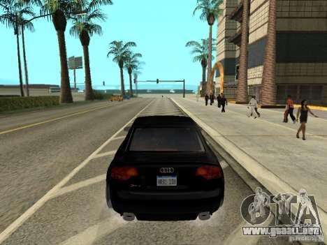 Audi RS 4 para GTA San Andreas left