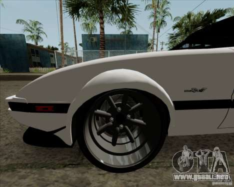 Mazda RX-7 FB Race para vista lateral GTA San Andreas