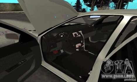 Lada Priora Hatchback para vista inferior GTA San Andreas