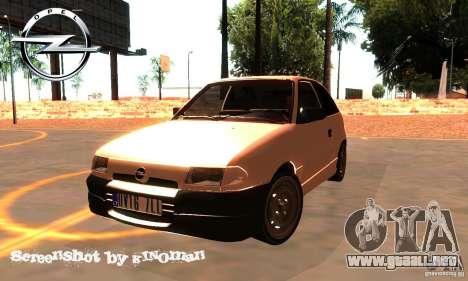 Opel Astra 1993 para GTA San Andreas