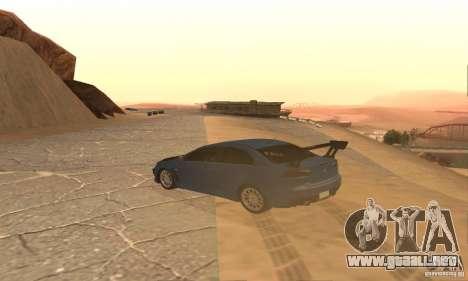 New Drift Zone para GTA San Andreas quinta pantalla