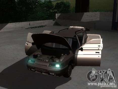 VAZ 21114 para visión interna GTA San Andreas
