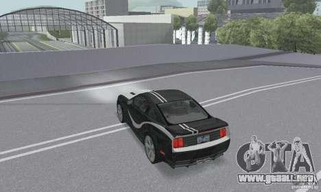 Saleen S281 Pack 2 para la visión correcta GTA San Andreas