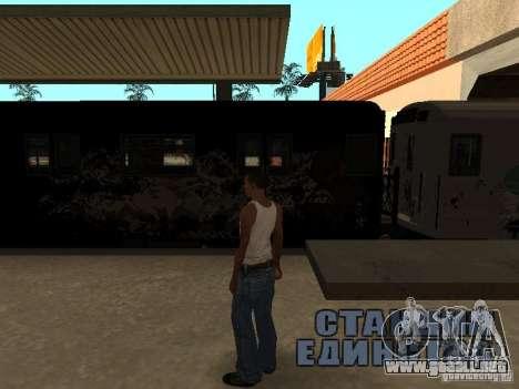 El tren de GTA IV para la visión correcta GTA San Andreas