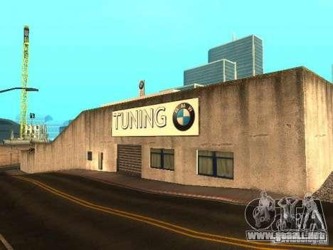 Concesionario BMW en San Fierro para GTA San Andreas tercera pantalla