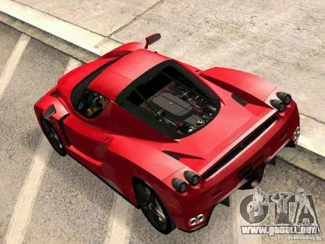 Ferrari Enzo Novitec V1 para la visión correcta GTA San Andreas