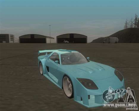 Mazda RX-7 Veilside Fortune para GTA San Andreas