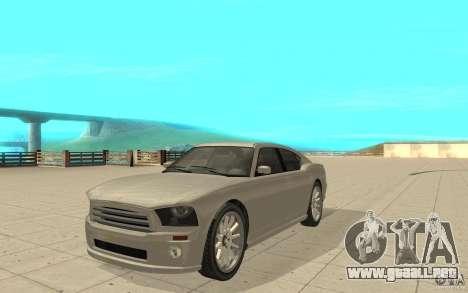 FIB Buffalo en GTA 4 para GTA San Andreas