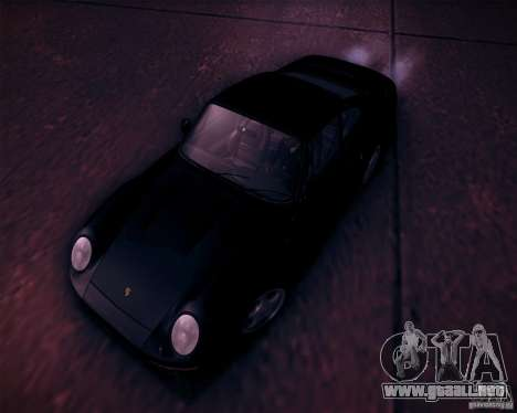 Porsche 959 1987 para vista inferior GTA San Andreas