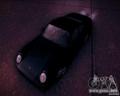 Porsche 959 1987 para vista inferior GTA San Andreas