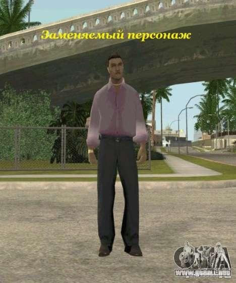 Assassins skins para GTA San Andreas novena de pantalla