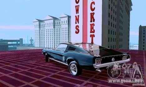 Ford Mustang 1967 para GTA San Andreas left