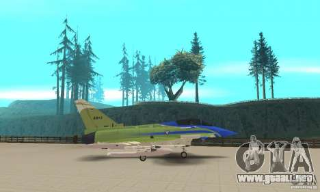 Eurofighter 2010 para GTA San Andreas left