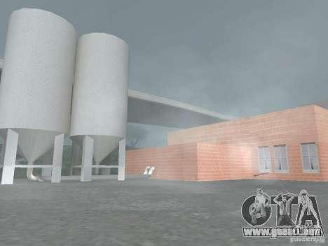 Pringles Factory para GTA San Andreas segunda pantalla