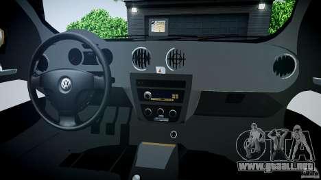 Volkswagen Gol 1.6 Power 2009 para GTA 4 vista lateral