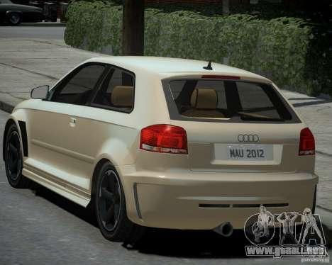 Audi S3 v2.0 para GTA 4 left