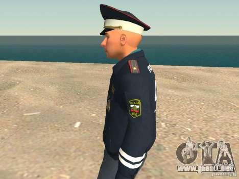 Mayor DPS para GTA San Andreas quinta pantalla