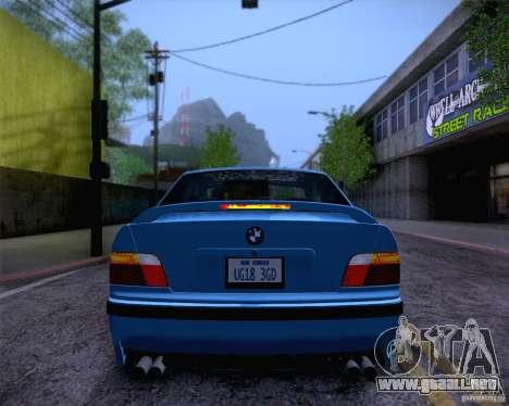 BMW M3 E36 1995 para GTA San Andreas interior