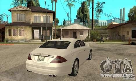Mercedes-Benz CLS 63 AMG para la visión correcta GTA San Andreas